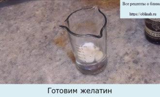 Готовим желатин