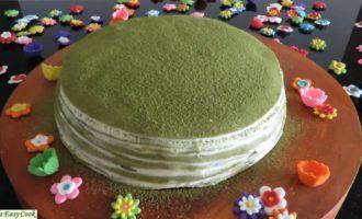 Японский блинный торт