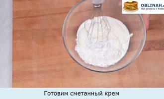 Готовим сметанный крем